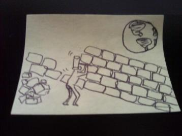 Brick by brick we start getting down the wall...