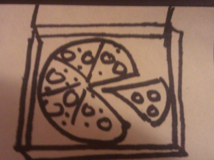 The fastest fast food pizza comes right on time...yammm