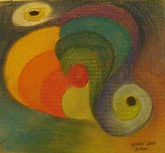 Pastel- Nazar Eyes