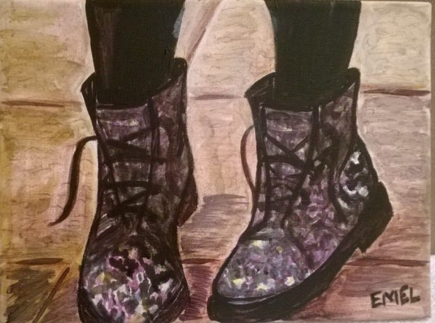 Floral (Hunting) Boots