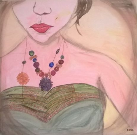 Girl with the necklace