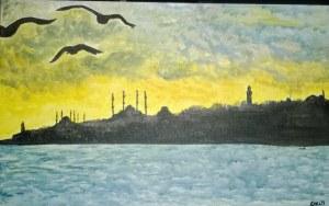Istanbul - Acrylic on Canvas