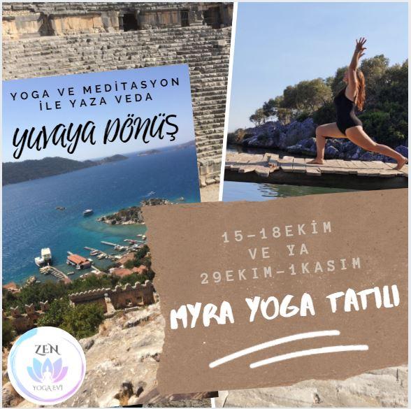 Myra yoga tatili afis
